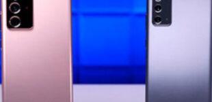 Samsung Galaxy Note 20 достойно прошёл сложный дроп-тест