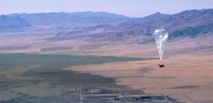 Раздающий Интернет аэростат от Google провисел в воздухе 312 дней