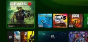 Microsoft наконец показала интерфейс Xbox Series X/S