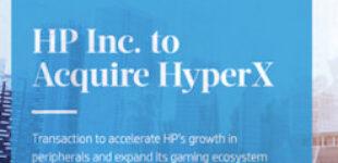 HP покупает подразделение HyperX Gaming у Kingston за 425 млн долл.