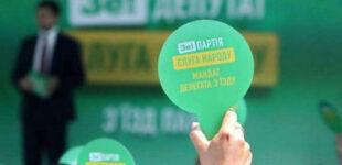 НАПК приостановила госфинансирование «Слуга народа» из-за уголовных преступлений