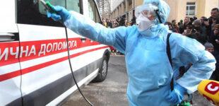 В Украине за сутки 7 167 новых случаев COVID-19