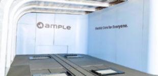 Стартап Ample заявил о выпуске модульной технологии замены батарей