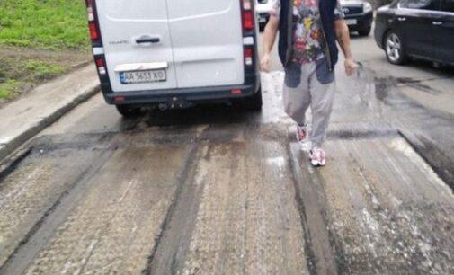 В Киеве мужчина обстрелял бригаду коммунальщиков, есть раненый