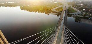 В Киеве на выходные ограничат движение на Южном мосту