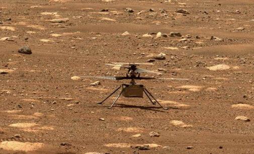 Вертолет NASA совершил второй успешный полет на Марсе