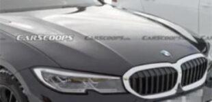 Обновленный BMW 3-Series заметили с новым салоном и изогнутым дисплеем