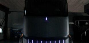 Опубликованы первые изображения конкурента Tesla Semi