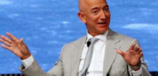 В сети показали, сколько зарабатывает самый богатый человек в мире Безос каждую секунду