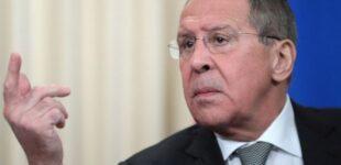 Глава МИД РФ «предостерег» Турцию и другие страны от поддержки Украины