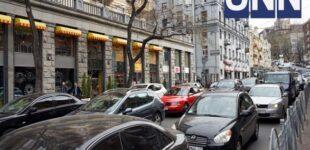 Неделя в Киеве началась с пробок: где затруднено движение