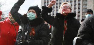 Почти половина украинцев поддерживают запрет георгиевской ленты