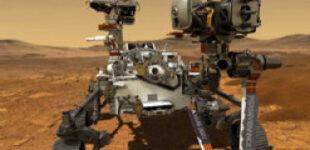 Впервые в истории. На Марсе ровер Perseverance записал звук летящего вертолета