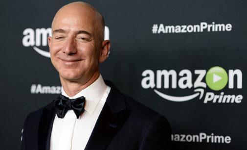 Джефф Безос продал часть акций Amazon