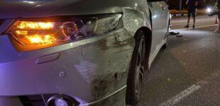 В Киеве пьяный водитель устроил двойную ДТП