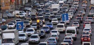 В Киеве утром образовались пробки: где «тянучка»