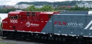 В США создали первый в мире грузовой локомотив на аккумуляторах