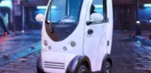 Создан самый крошечный одноместный автомобиль на электрическом ходу