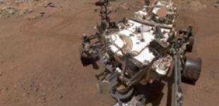 Марсоход Perseverance сделал селфи на Марсе