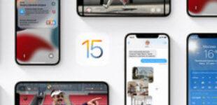 Вышла первая бета iOS 15.1